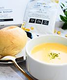 パンとコーンスープセット