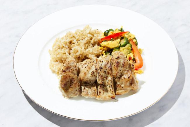鶏の塩麹焼き