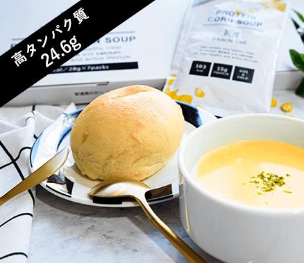 大豆粉などを使ったパン